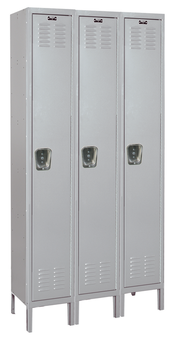 Single Tier Standard Steel Locker 3-Wide 12