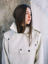 Load image into Gallery viewer, Off-White Soft Leather Jacket