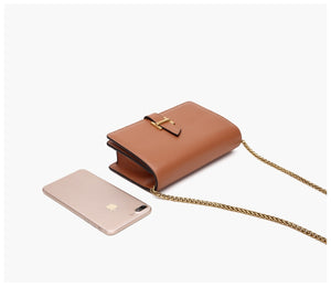 Mini Crossbody Leather Bag