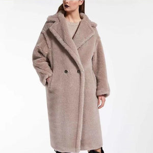 Alpaca Wool Teddy Coat