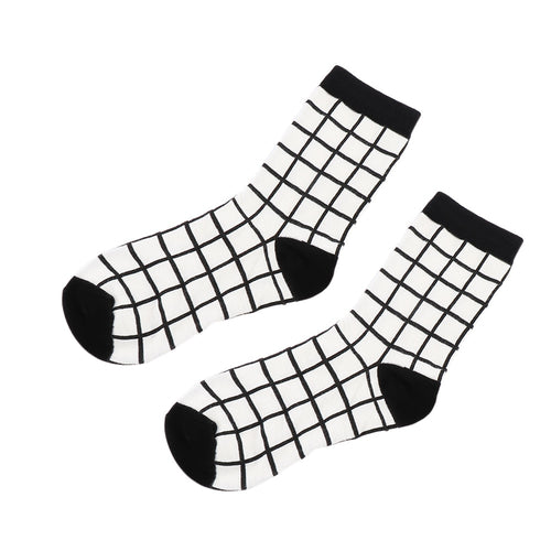 B'n'W Cotton Socks