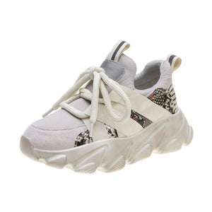 Chunky Platform Shoes Sneakers Running Shoes