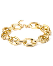 Load image into Gallery viewer, Golden Chain Choker and Bracelet
