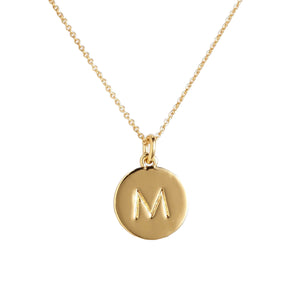 Necklace with Your Letter