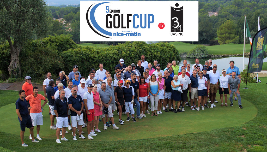 Ailion partenaire de la Golf Cup Nice Matin au Royal Mougins Golf Resort