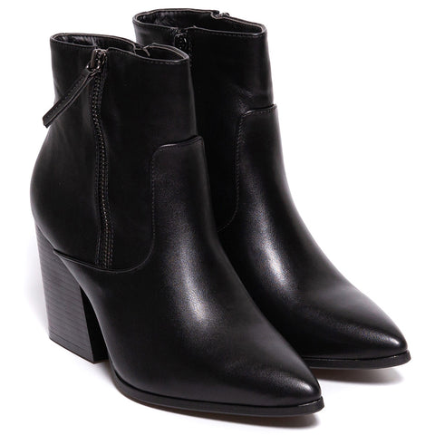Botine dama Timber, Negru