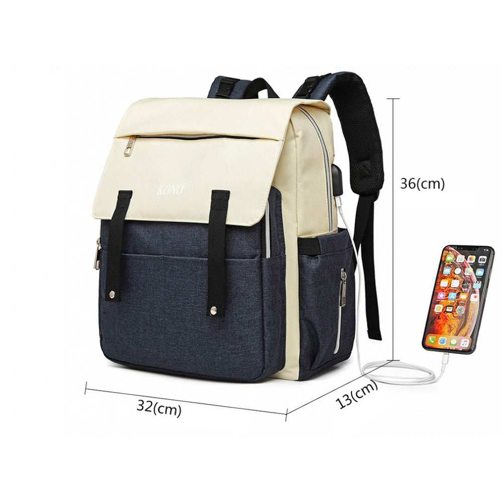 Imagine Rucsac Multifunctional Mamici Mititel Bleumarin
