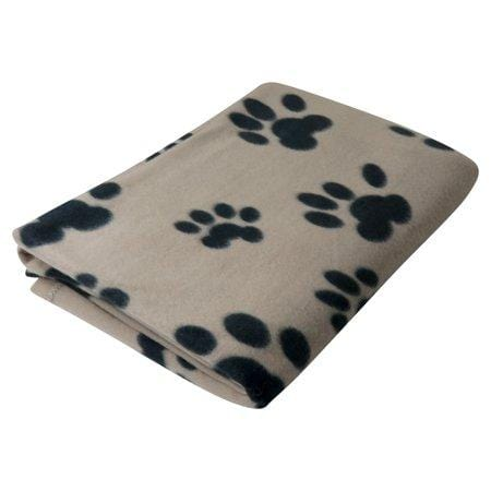 Evelots Pet or Personal Blanket Cat or Dog Paws-Soft Fleece