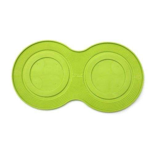 PetProjekt Large DogMat, Dog Bowl Mat Lime