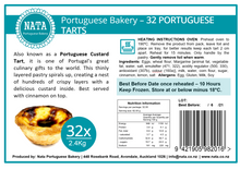 Load image into Gallery viewer, Portuguese Tarts Box Frozen
