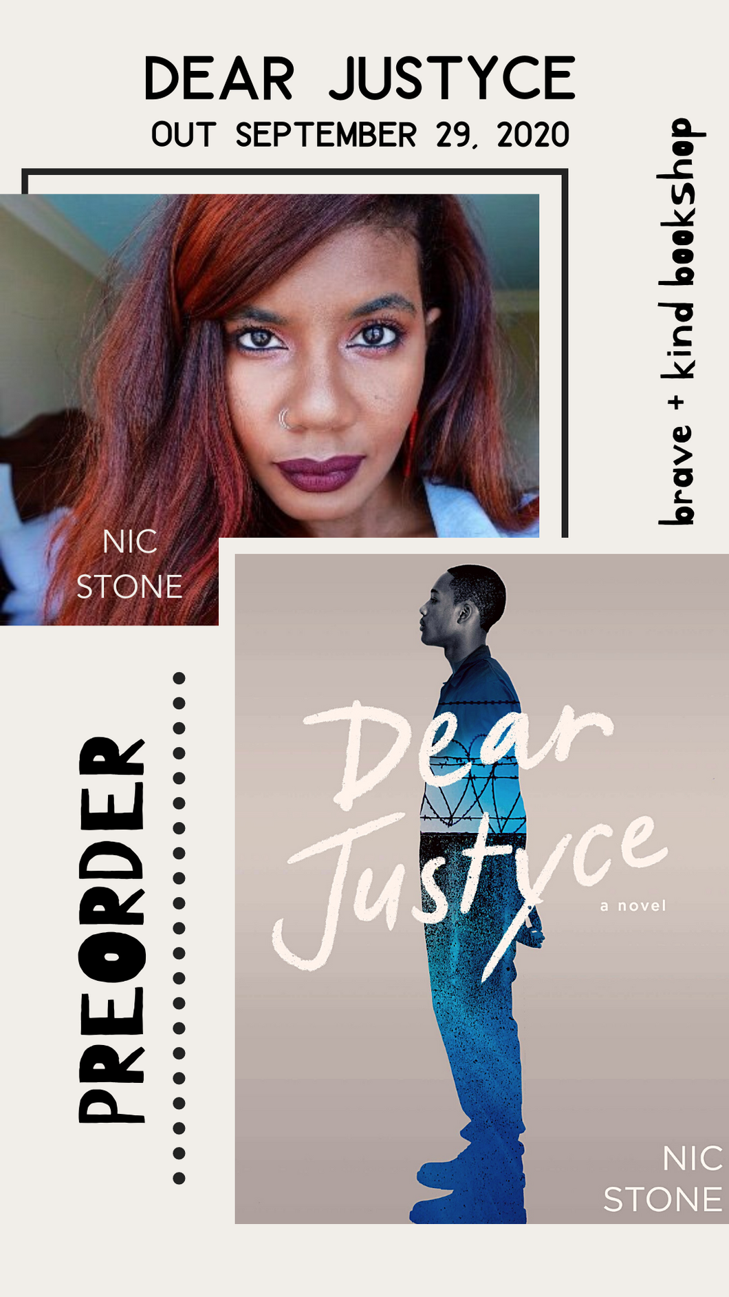 PREORDER Dear Justyce | Nic Stone