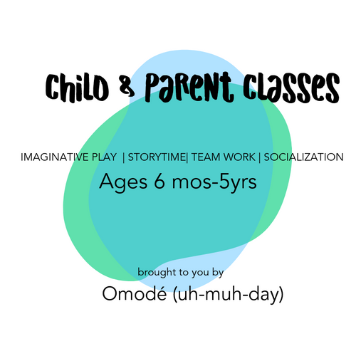 CAREGIVER + TODDLER WORKSHOPS W/ OMODE