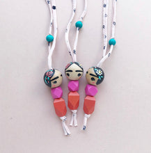 FRIDA KAHLO NECKLACE | CORAL AND CLOUD