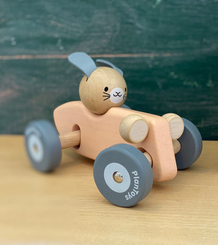 Bunny Racing Car | PlanToys