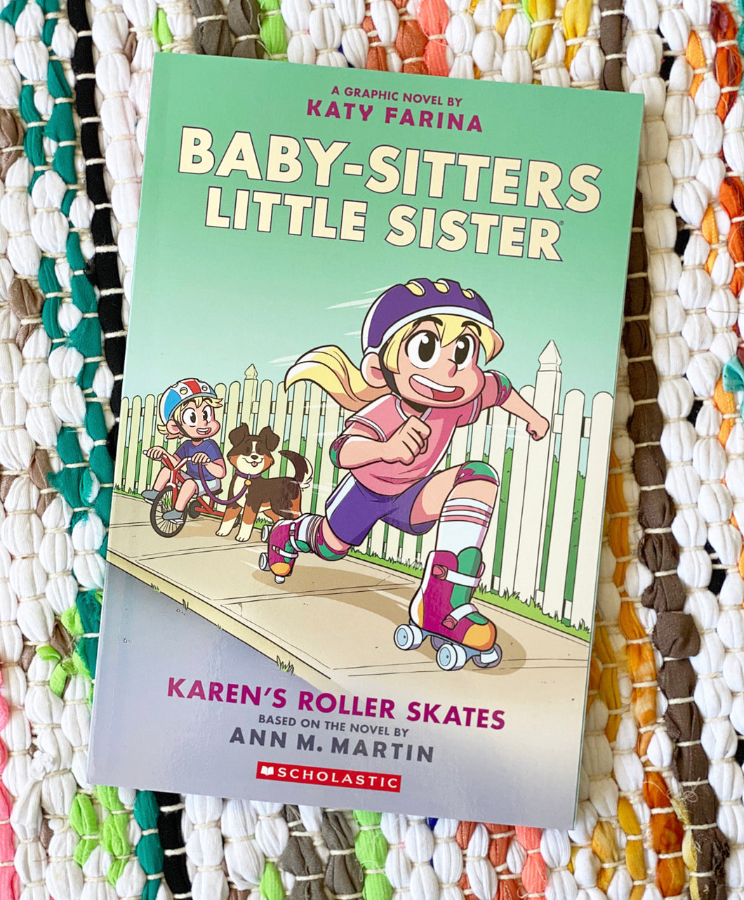 Karen's Roller Skates (Baby-sitters Little Sister Graphic Novel #2) | Martin