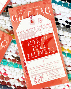 Fancy Gift Tags [Set of 5]