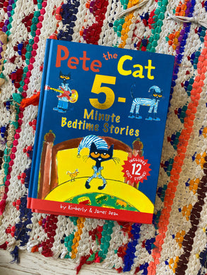 Pete The Cat 5 minute Bedtime Stories