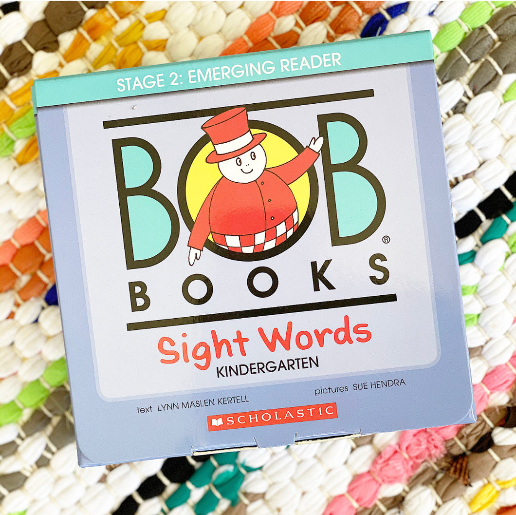 BOB Books, Sight Words: Kindergarten