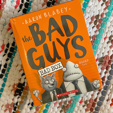 The Bad Guys Box Set: Books 1-5 | Aaron Blabey