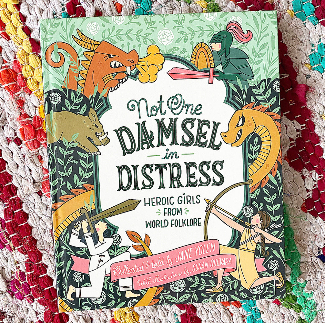 Not One Damsel in Distress: Heroic Girls from World Folklore | Jane Yolen