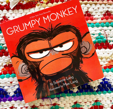 Grumpy Monkey (board book) | Lang