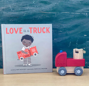 Love is a Truck Gift Set