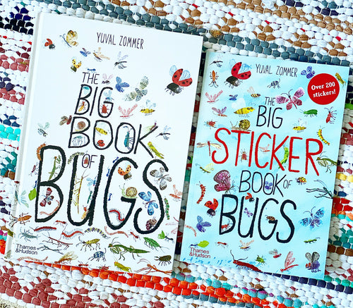 Big Book of Bugs + Stickers Set