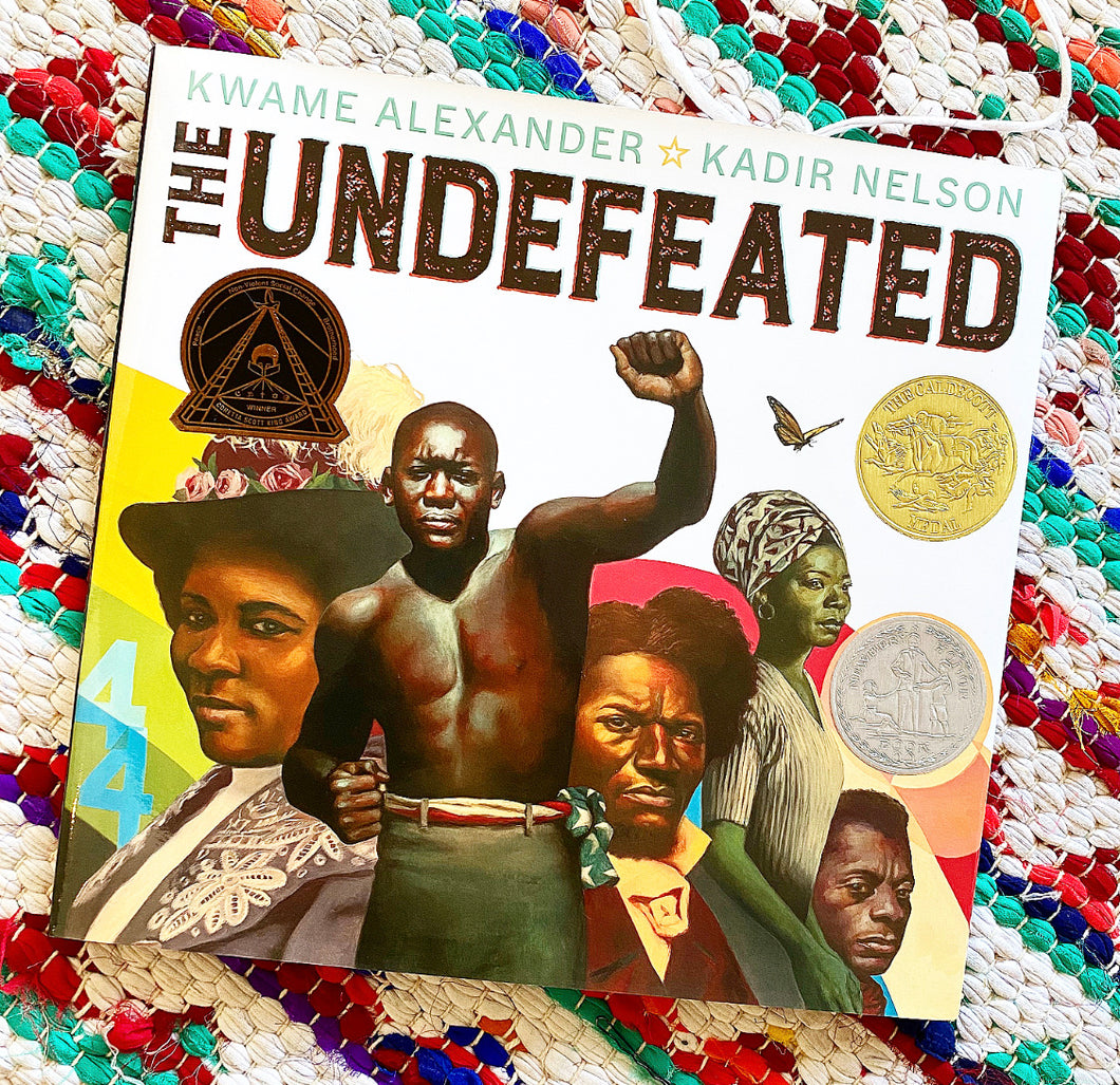 The Undefeated Book by Kwame Alexander