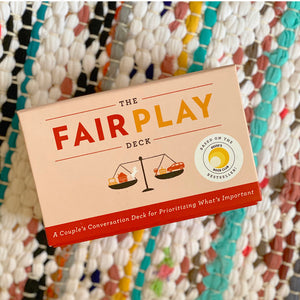 The Fair Play Deck: A Couple's Conversation Deck for Prioritizing What's Important | Eve Rodsky