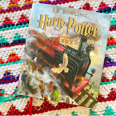 Harry Potter and the Sorcerer's Stone: The Illustrated Edition (Harry Potter, Book 1) | Rowling