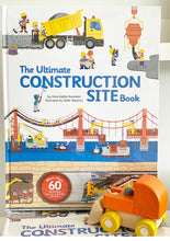 Construction Book + Bulldozer Gift Set