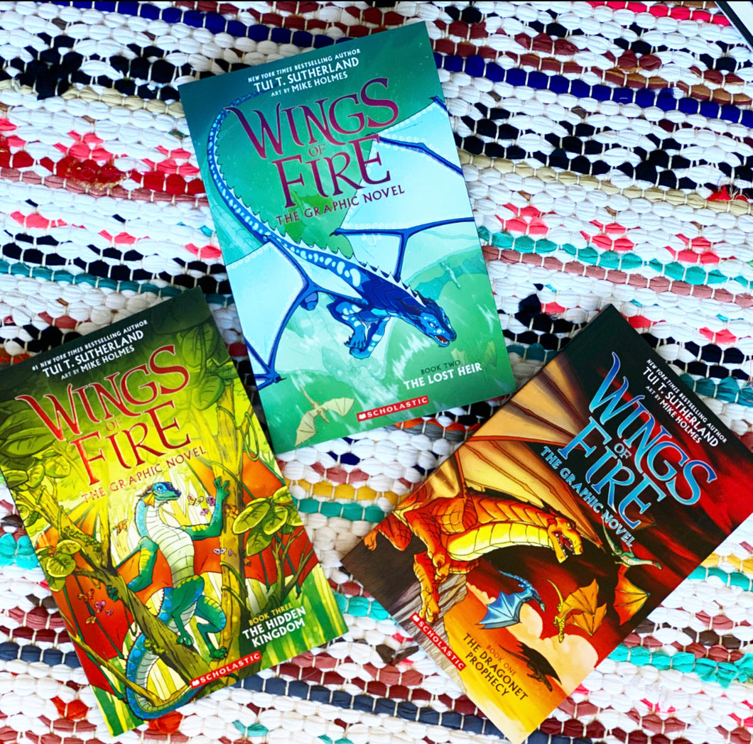 Wings of Fire Bundle, Books 1- 3 (Wings of Fire Graphic Novels) | Tui T. Sutherland