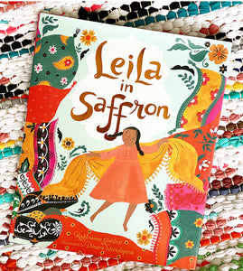 Leila in Saffron Book | Rukhsanna Guidroz