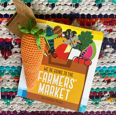Farmers Market Fun Book + Crochet Carrot