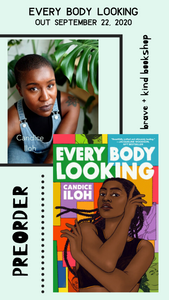 PREORDER OUT SEPT 22 Everybody Looking | Candice Iloh