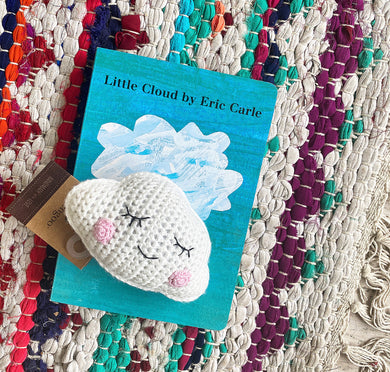Lovely Little Cloud Book + Crochet Rattle