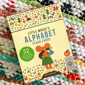 Little Mouse's Alphabet Flash Cards: 52 Flash Cards to Learn Your Letters & FIrst Words with Little Mouse |  Kovecses, Anna