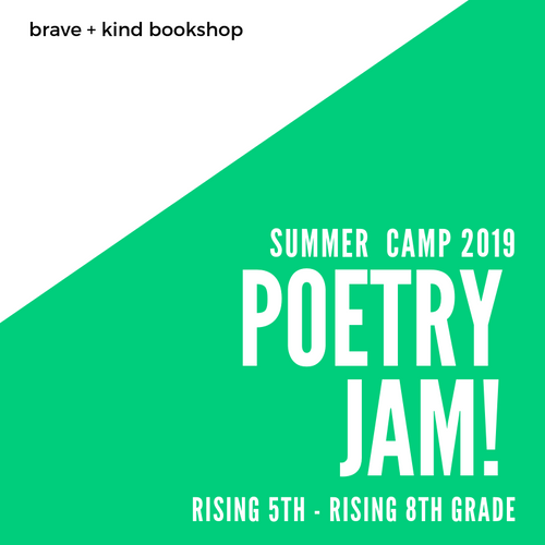 POETRY WRITING CAMP for TEENS & TWEENS