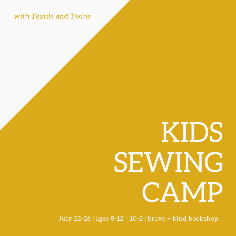 KIDS SEWING CAMP!