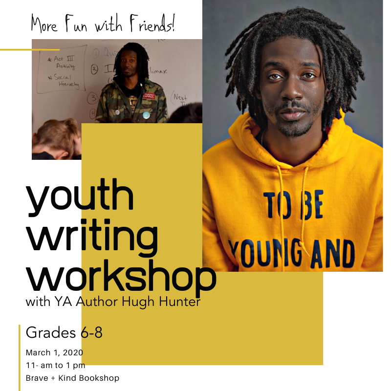 More Fun with Friends | Youth Writing Workshop | Grades 6-8
