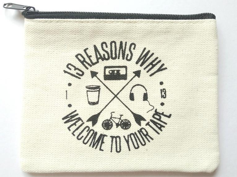 13 Reasons Why Welcome Coin Purse