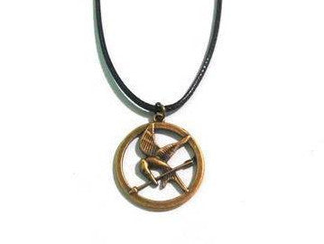 Hunger Games Mockingjay Cord Necklace