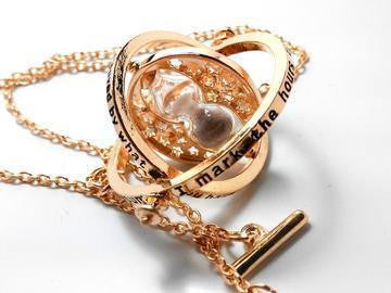 Harry Potter Timeturner Necklace White