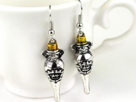 Harry Potter Felix Felicis Earrings