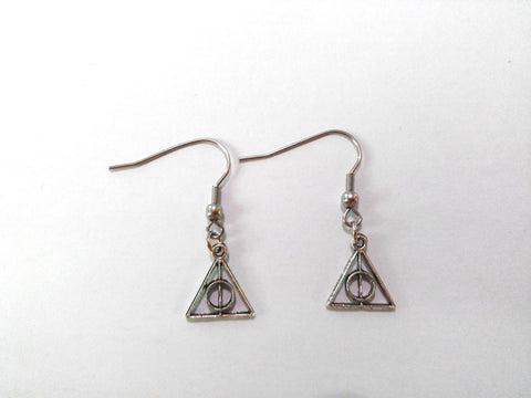 Harry Potter Deathly Hallows Earrings
