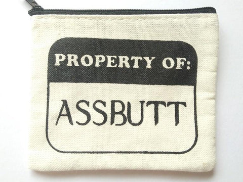 Supernatural Assbutt Coin Purse