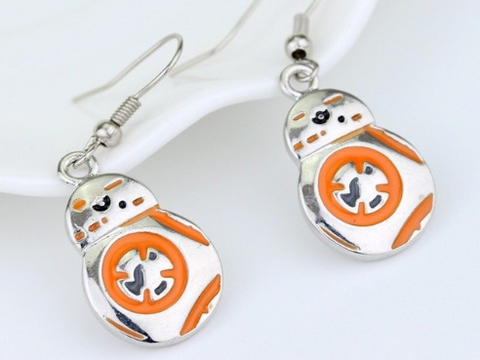 Star Wars BB8 Earrings
