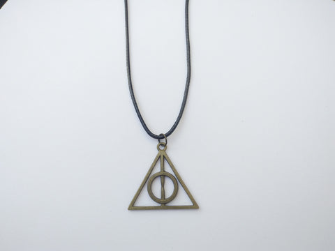Harry Potter Deathly Hallows Cord Necklace