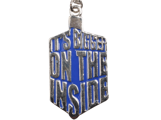 Doctor Who TARDIS Words Necklace