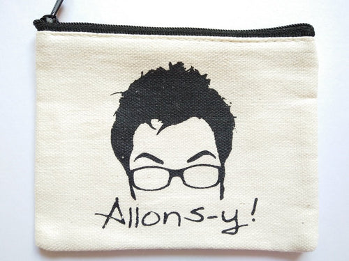 Doctor Who Allons-y Coin Purse